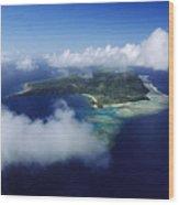 Fiji Aerial Wood Print