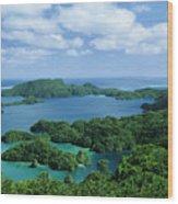 Fiji Vanua Balavu Wood Print
