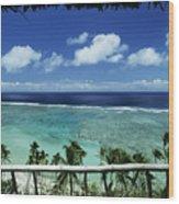 Fiji, Wakaya Island Wood Print