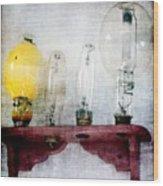 'filamentary My Dear Watson' Wood Print