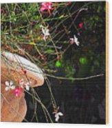 Filigree-iii Wood Print by Susanne Van Hulst