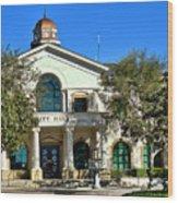 Fillmore City Hall Wood Print