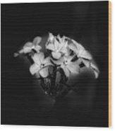 Film Noir Bouquet  Wood Print