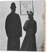 Film Still: Suffragette Wood Print