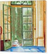 Filoli Tea House Wood Print