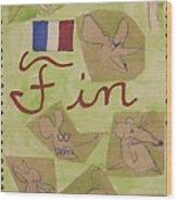 Fin Wood Print
