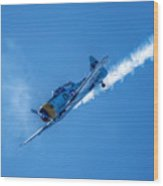 Final Dive World War Two Airplane  Wood Print