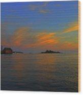 Final  Light Over  Gloucester Wood Print