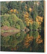 Final Reflection Wood Print