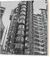 Finance The Lloyds Building In The City Wood Print