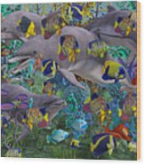 Find The Sea Dragon Wood Print
