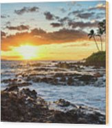 Find Your Beach 2 Wood Print