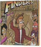 Finders Of The Lost Package Wood Print