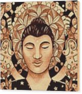 Finding Peace 4 Wood Print