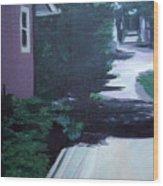 Findley Alley Wood Print
