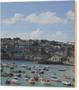 Fine Art - St Ives Harbour Wood Print
