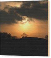 Fine Art - Sunset 4 Wood Print
