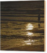 Fine Art- Waves Wood Print