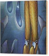 Finfaerian Odyssey Wood Print