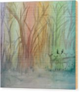 Finian's Rainbow Wood Print