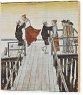 Finnish Symbolist Painter Wood Print