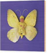 Fiona Butterfly Wood Print