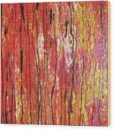 Fire - 1 Wood Print