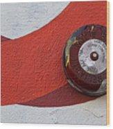 Fire Alarm 1 Wood Print