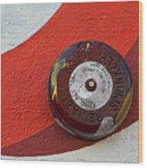 Fire Alarm Wood Print