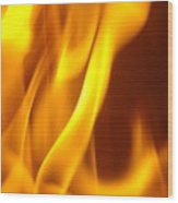 Fire Desire Mesmerized San Francisco Autumn Warmth Baslee Troutman Wood Print