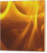 Fire Desire Seattle Art Mesmerizing Autumn Warmth Baslee Troutman Wood Print