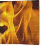Fire Desires Art Fiery Hot New York Autumn Warmth Baslee Troutman Wood Print