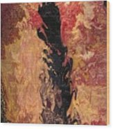 Fire - Elemental Spirit Wood Print