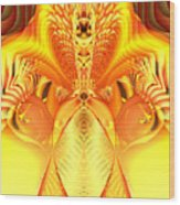 Fire Goddess Wood Print