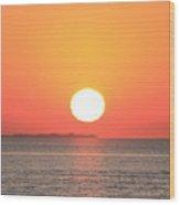 Fire Island Sunrise In August Wood Print