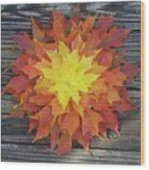 Fire - Reynoldstown - Atlanta, Ga Wood Print