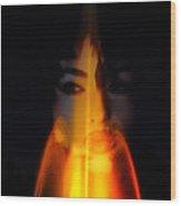 Fire Spirit Wood Print