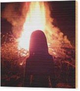 Fire Starter Wood Print