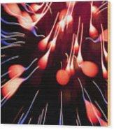 Fire Tadpole K860 Wood Print