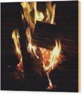 Fire Wood Print