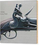 Firearms 1746 British Flintlock Horse Pistol Wood Print