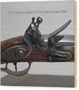 Firearms 1792 Virginia Legion Of The United States Rifle Wood Print