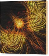 Firebird Wood Print