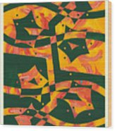 Fireflower Wood Print