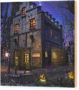Firefly Inn Wood Print by Joel Payne