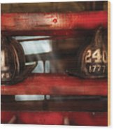 Fireman - A Salute To The Firefighter Wood Print