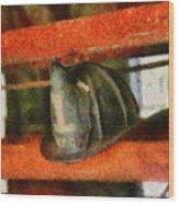 Fireman - Chief Hat Wood Print
