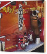 Fireman - Engine No 2  Wood Print