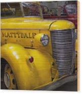 Fireman - Mattydale  Wood Print