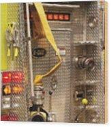 Fireman - Station - 36-3 Wood Print